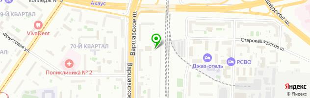 Ресторан Авиньон — схема проезда на карте