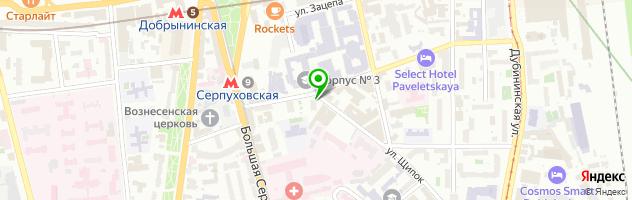 Ремонтная мастерская СлужбаБыта. — схема проезда на карте