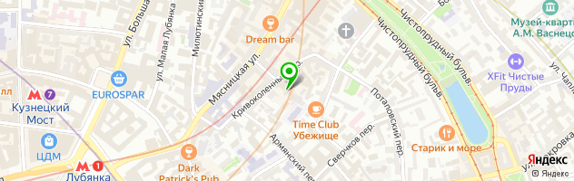 Кафе Одесса-мама — схема проезда на карте