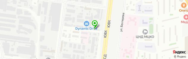 Торговая компания Антиблик — схема проезда на карте