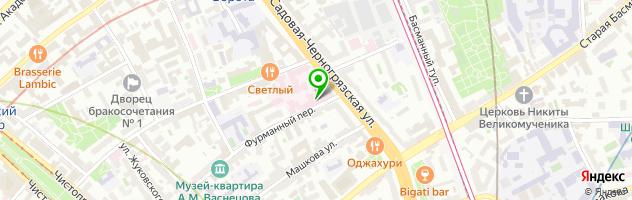 Московский НИИ глазных болезней им. Гельмгольца — схема проезда на карте