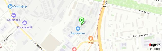 Автосервис Автопилот Свиблово — схема проезда на карте