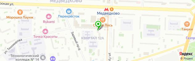 Азбука фото (Медведково) — схема проезда на карте
