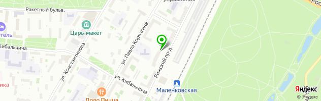 Медицинский центр Филд-Мастер — схема проезда на карте