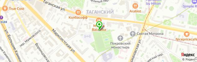Ювелирная мастерская Saharoff — схема проезда на карте