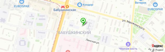 Сервисная компания NTC — схема проезда на карте