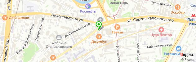 ГОРОД КРАСОТЫ — схема проезда на карте