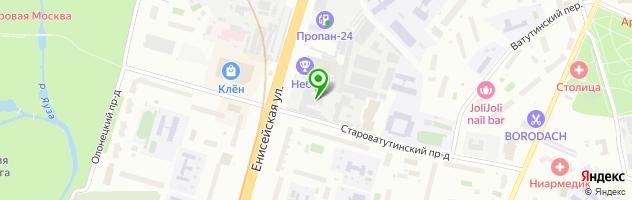 Техцентр Авто-РТ — схема проезда на карте