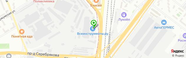 Торгово-производственная компания СтройГрупп-Мебель — схема проезда на карте
