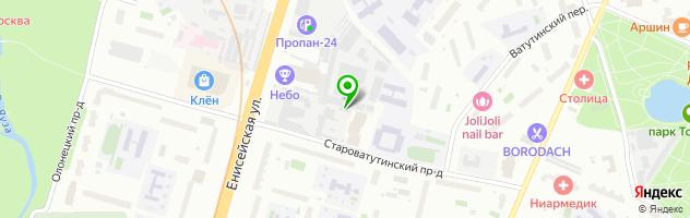 Техцентр Кайман Моторс — схема проезда на карте