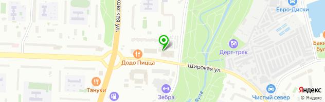 Сервис-24 — схема проезда на карте