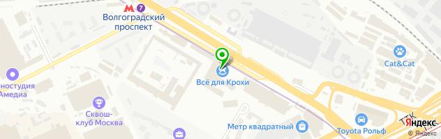 Колледж МФЮА — схема проезда на карте