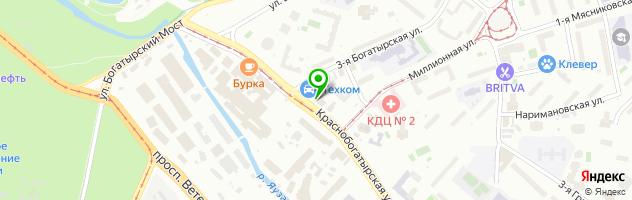 Сервисный центр КомпрайЭкспресс — схема проезда на карте