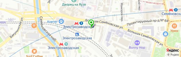 Remmob — схема проезда на карте