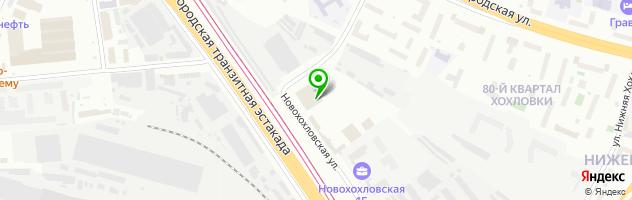 Автосервис Неокар — схема проезда на карте