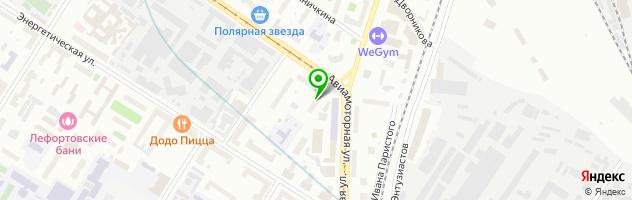 Семейный медицинский центр МедФорд — схема проезда на карте