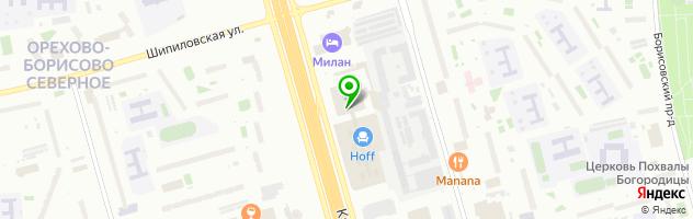 AV-MOTORS — схема проезда на карте