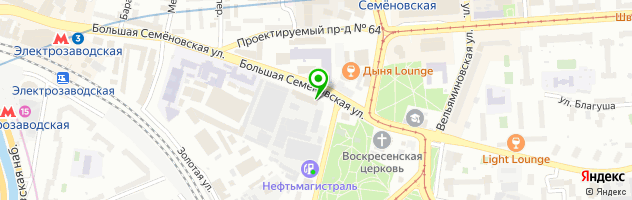 Граверная мастерская Рекланика — схема проезда на карте