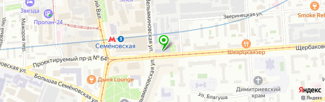 Ремонт электроинструмента в Москве — схема проезда на карте