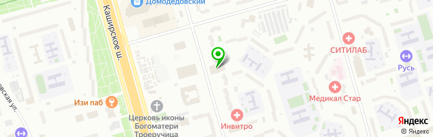 Реммосмаш — схема проезда на карте