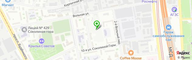 Автосервис ИОН — схема проезда на карте