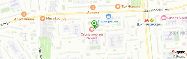 Ателье по индивидуальному пошиву — схема проезда на карте