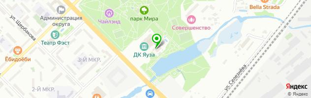 Ресторан Miraclub — схема проезда на карте