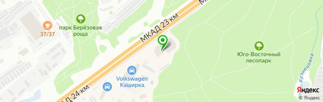 Торгово-сервисная компания Автоцентр Сити — схема проезда на карте