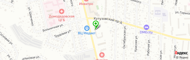 Кафе Акрополь — схема проезда на карте