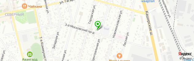 Сервисный центр ВДО — схема проезда на карте