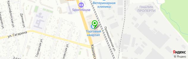 ТЕХНОКАУТ — схема проезда на карте