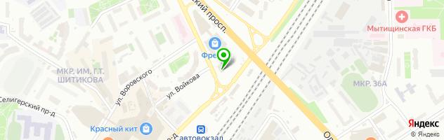 Ресторан Веранда 13 — схема проезда на карте
