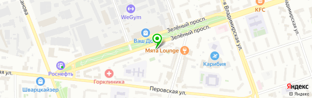 Магазин автозапчастей Эликон-С — схема проезда на карте