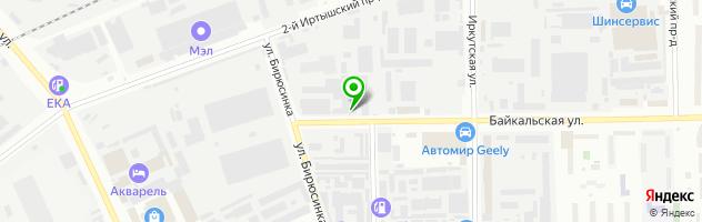 Установочная студия Автомедиа — схема проезда на карте