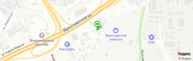 Newmix — схема проезда на карте