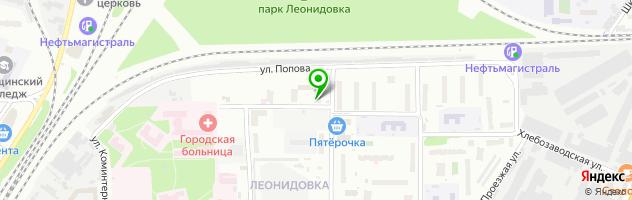 Ветеринарная клиника Провет-Капуцин — схема проезда на карте