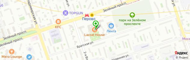 Ресторан Галио — схема проезда на карте