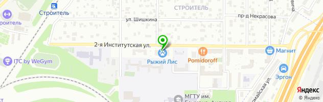 Детский досуговый центр Смарт Ленд — схема проезда на карте