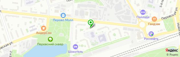 Аист — схема проезда на карте