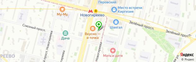 Добрынинский — схема проезда на карте