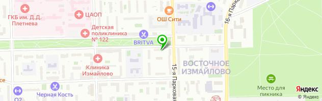 Сбербанк России — схема проезда на карте