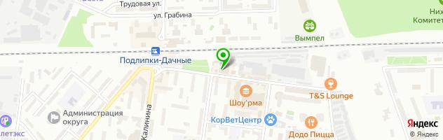 Типография и фотоцентр Abrism.ru — схема проезда на карте