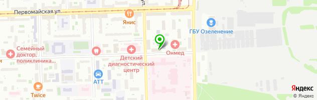 Гостиничный комплекс Парк Отель — схема проезда на карте