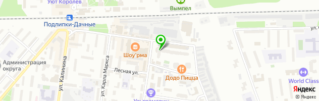Медицинский центр Дарьял — схема проезда на карте