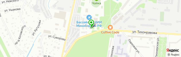Кафе-ресторан Вишневый сад — схема проезда на карте