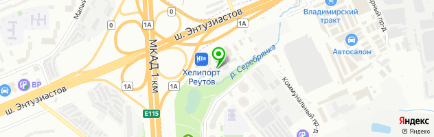 Техцентр Автофор на Горьковском шоссе — схема проезда на карте