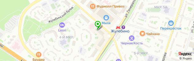 Ресторан - Банкетный зал «Милана» — схема проезда на карте