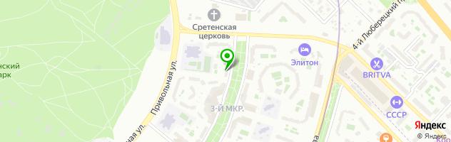 Стоматологический центр Дантист — схема проезда на карте