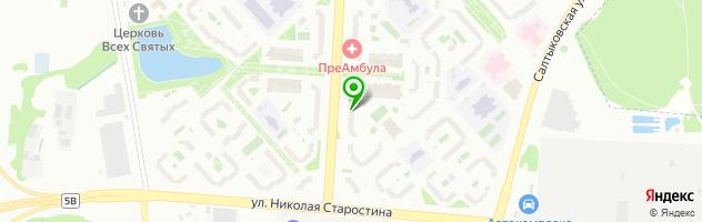 Автошкола Фортуна-Авто в Новокосино — схема проезда на карте