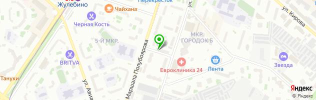 Медицинский центр Мега-ТМТ — схема проезда на карте